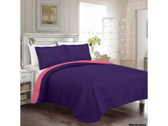 Arya Покрывало 250x260 Rainbow фиолетовый