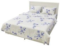 Постельное белье Arya Rigel Цветы синие
