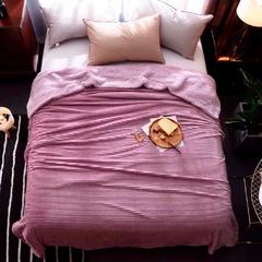 Love You Плед Меховой Полоска 200Х220 Розовый