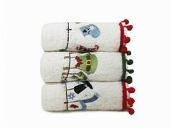 Arya Набор полотенец Рождество с вышивкой 30х50 Serene