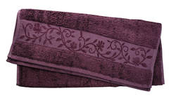 Hanibaba Полотенце Бамбук 100х150 Сливовый