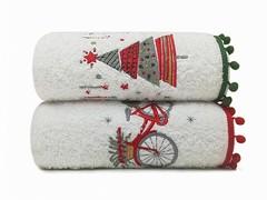 Arya Набор полотенец Рождество с вышивкой 50х90 Sone