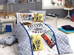 Постельное белье First Choice De Luxe ранфорс молодежный Surf
