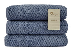 Полотенце Arya 100х150 Arno голубой