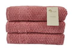 Полотенце Arya 30х50 Arno розовый