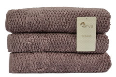 Полотенце Arya 50х90 Arno пурпурный