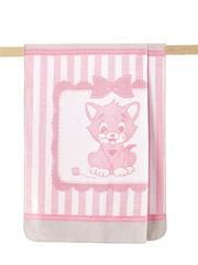 Arya Плед Хлопок детский 100Х120 Kitty розовый