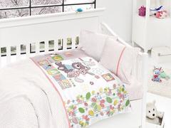 Постельное белье First Choice Сатин в детскую кроватку Well